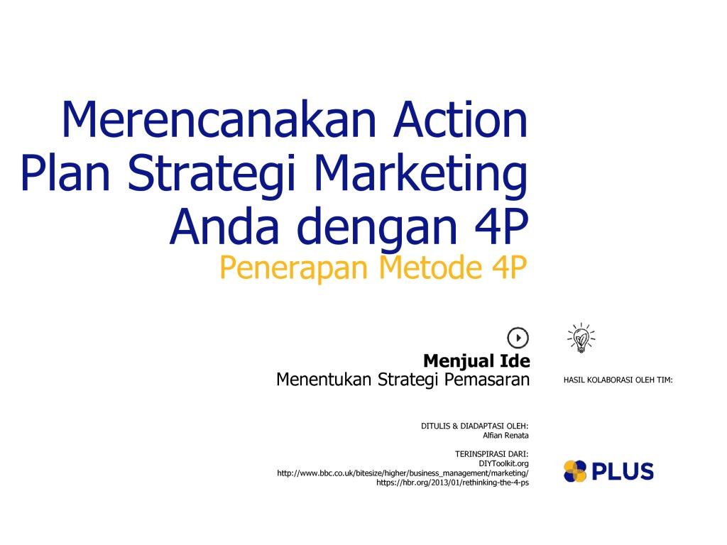 4p dalam business plan